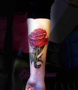 Intuition rose tattoo by Liz Venom by LizVenom on deviantART