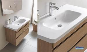 Meuble salle de bain bois duravit durastyle espace aubade for Duravit salle de bain