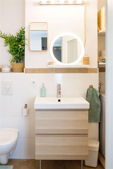 Ikea Badmöbel Für Kleine Bäder by Stauraum F 252 R Ein Kleines Badezimmer Wir Zeigen Euch