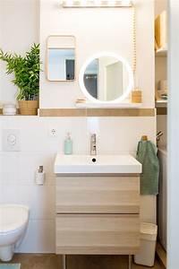 Ikea Mülleimer Bad : stauraum f r ein kleines badezimmer wir zeigen euch unser neues bad badezimmer bathroom ~ Eleganceandgraceweddings.com Haus und Dekorationen