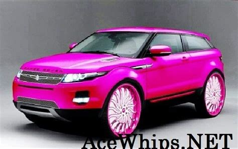 ace  mayras candy pink  range rover evoque