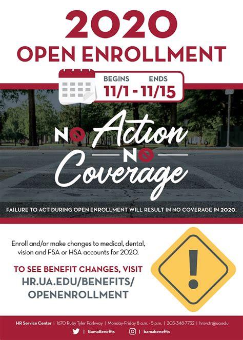 key  coming  open enrollment  university