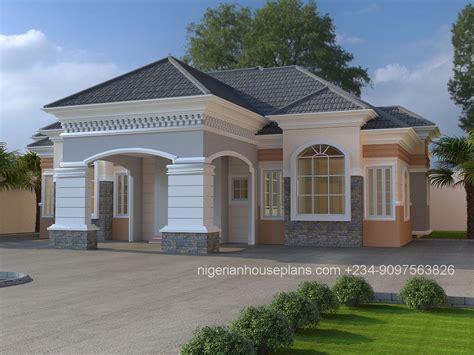 3 Bedroom House In by 3 Bedroom Bungalow Ref 3025 Nigerianhouseplans