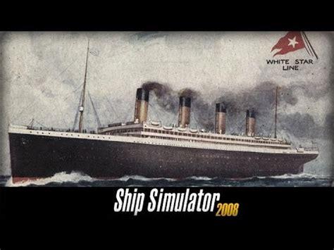 titanic sinking ship simulator 2008 rms titanic memorial sinking ship