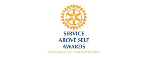 service awards dinner rotary club southside corpus christi