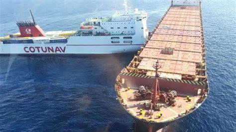 Corsica Cargo Ship Collision