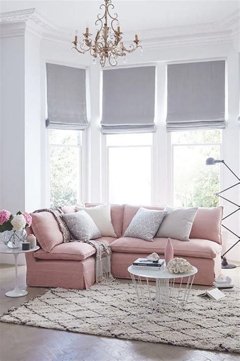 Pink Living Room Interior Design Furniture Decor Ideas by Blush Pink Home Decor Of Me
