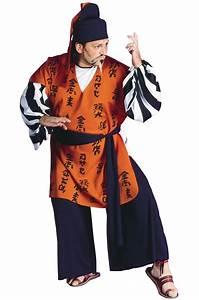 Samurai Man Plus Size Costume Purecostumes Com