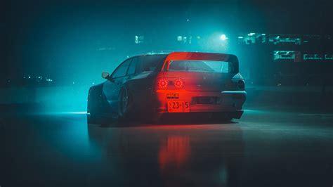 digital car wallpaper concept art nissan gtr jdm