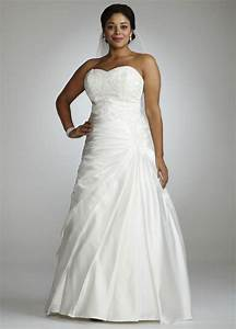 david39s bridal strapless a line satin wedding dress with With drop waist a line wedding dress