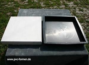 Formen Für Beton : 2 formen giessformen f r betonplatten 31x31x4 cm ebay ~ Markanthonyermac.com Haus und Dekorationen