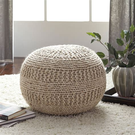 Hassock Ottoman by Signature Design By Benedict Pouf Ottomans At