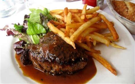 recettes de steak aux champignons  creme fraiche les