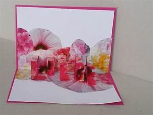 Pop Up Karte Basteln Geburtstag : diy zum valentinstag pop up karte basteln handmade kultur ~ Frokenaadalensverden.com Haus und Dekorationen