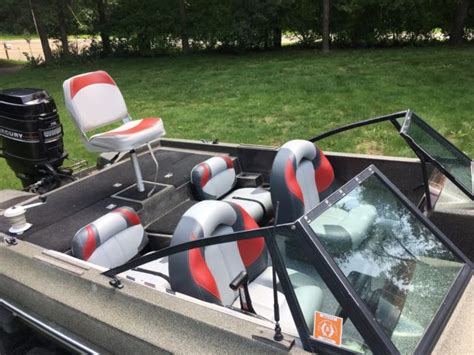 Used Fish And Ski Boats With Outboard Motors by Jason Fish And Ski Bass Boat 1800sf 115hp Mercury Outboard
