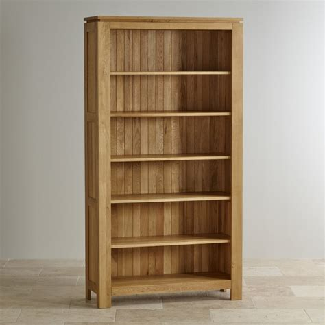 rustic formal dining galway natural solid oak bookcase living room furniture