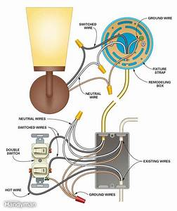 Adding A Wall Sconce Switch Wiring Diagrams Sewer Pump Wiring Diagram