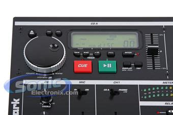 Numark Cdmix1 Pro Dj Mixing Console With Dual Cd Player