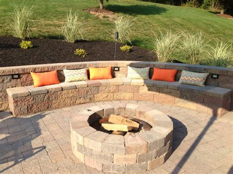 firepit wall how to build a retaining wall hirerush blog
