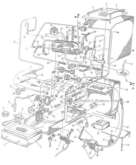 Espresso Maker Schematic by Espresso Schematic Coffee Effects And Diagrams