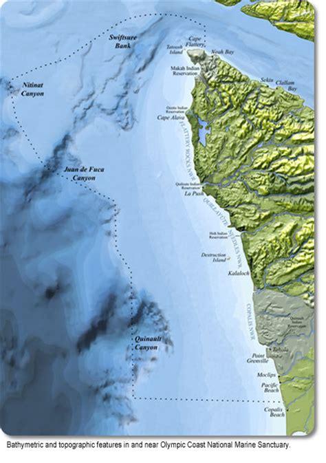 olympic coast visitor maps