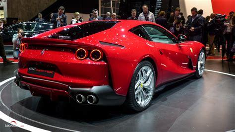 Salon Geneve 2017 251 Ferrari 812 Superfast Les Voitures