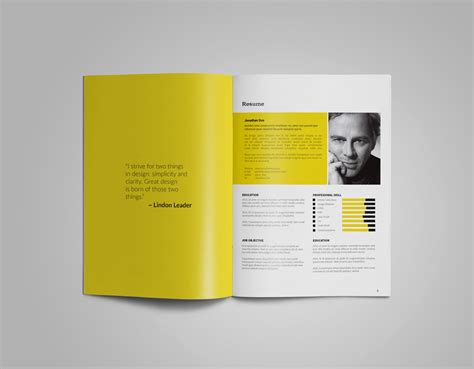 templates de portefolios 41 free indesign portfolio template pdf graphic design