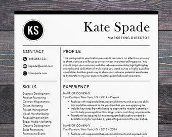 sale creative resume template modern design mac or pc word