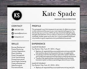 sale creative resume template modern design mac or pc word With etsy resume template download free