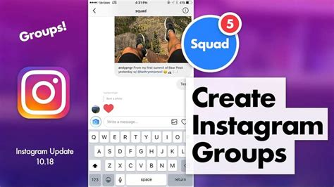 instagram chat sticker release create groups stories