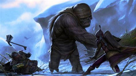 pin  giants trolls golems  ogres