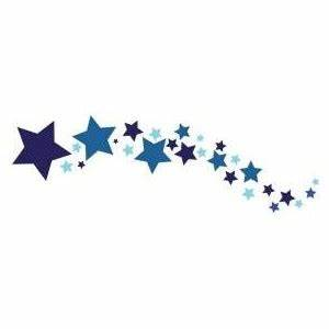 Trace Designs Shooting Stars Trace and Paint Murals - 9402 ...