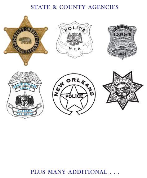 police badge template   clip art