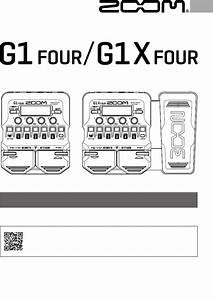 Zoom G1 Music Pedal Manual Pdf View  Download