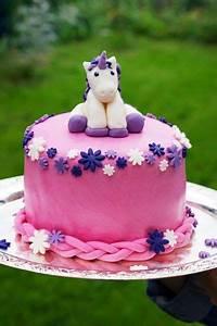 Pearls And Peaches Einhorn Torte Unicorn Cake