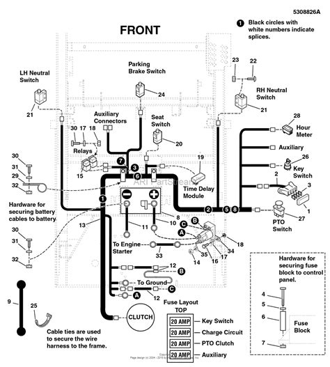 snapper pro s200x wiring diagram wiring diagram and