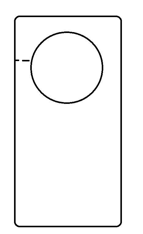 Door Hanger Template Door Hanger Design Template Door Hanger Template Free