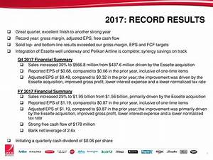ACCO Brands Corporation 2017 Q4 - Results - Earnings Call ...