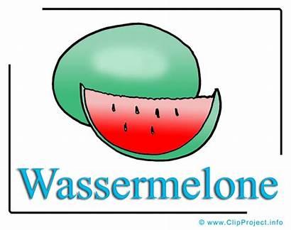 Clipart Wassermelone Utklipp Watermelon Essen Gratis Vannmelon
