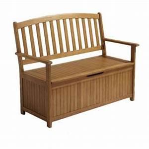 17 meilleures idees a propos de coffre de rangement With canape de jardin castorama 18 banc coffre bois