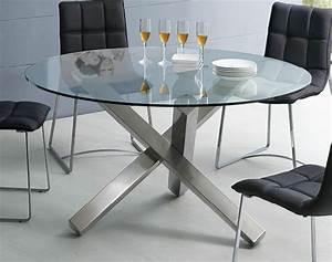Esstisch Oval Glas : esstisch aus glas schick und elegant ~ Frokenaadalensverden.com Haus und Dekorationen