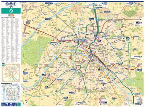 paris metro map  attractions  travel information
