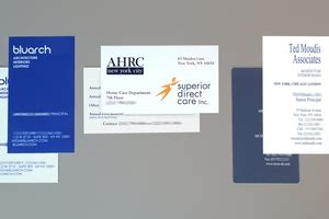 diverse printing graphics  york city business cards