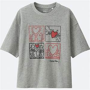 T Shirt Keith Haring : women sprz ny short sleeve graphic t shirt keith haring uniqlo us ~ Melissatoandfro.com Idées de Décoration