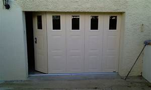 portes de garage sectionnelles laterales et battantes With porte de garage coulissante avec portillon