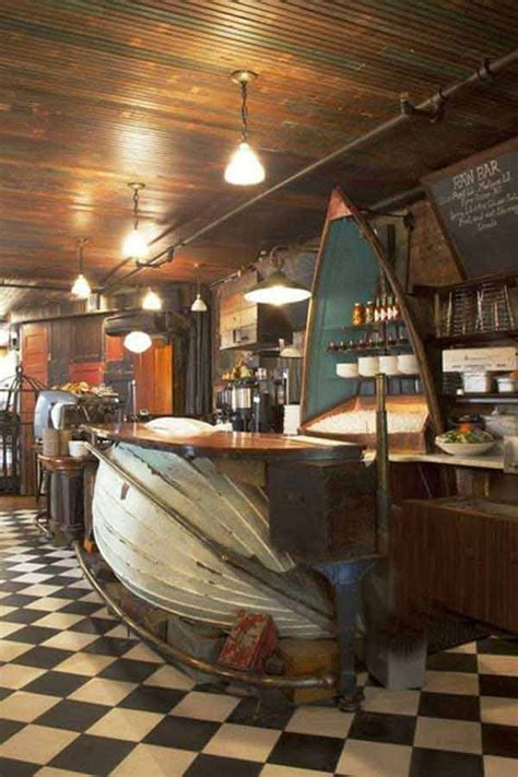 Boat Bar by Ideas How To Reuse Boats Recycled Oyster Bar