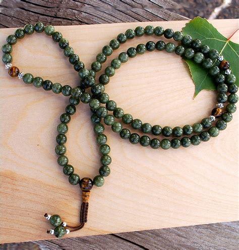 Jade (Dark) Mala - Sakura Designs