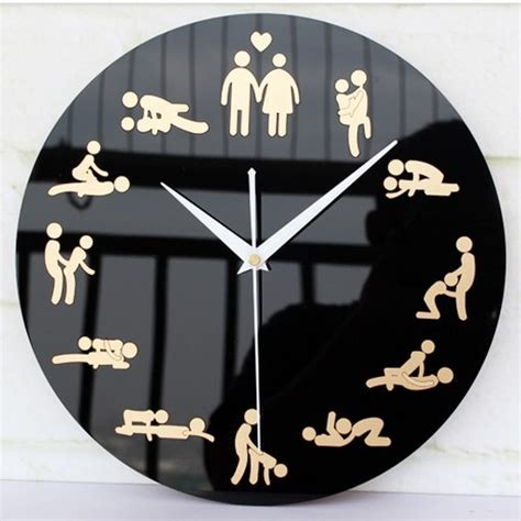 Innovative Kitchen Design Ideas - innovation household living room sex culture wall clocks unique wedding gifts for friends free