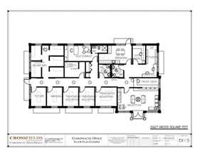 open floor house plans chiropractic clinic floor plans
