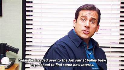 Job Fair Scott Michael Office Gifs Career